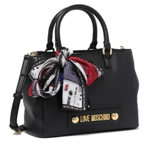 Love Moschino leather handbag NWT
